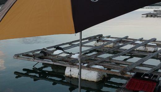 筏釣り用パラソルスタンド作成しました【受注生産】